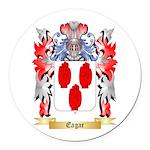 Eagar Round Car Magnet