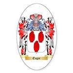 Eagar Sticker (Oval 50 pk)
