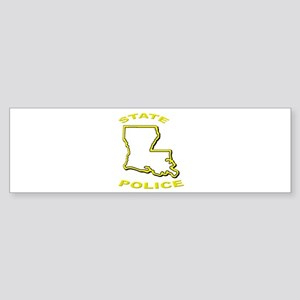 Louisiana State Police Bumper Sticker