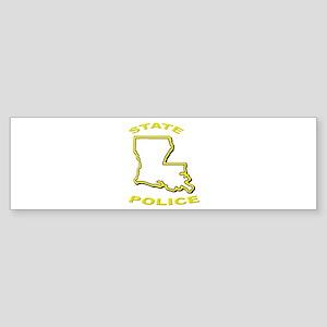Louisiana State Police Bumper Sticker