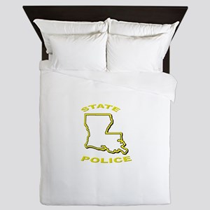 Louisiana State Police Queen Duvet
