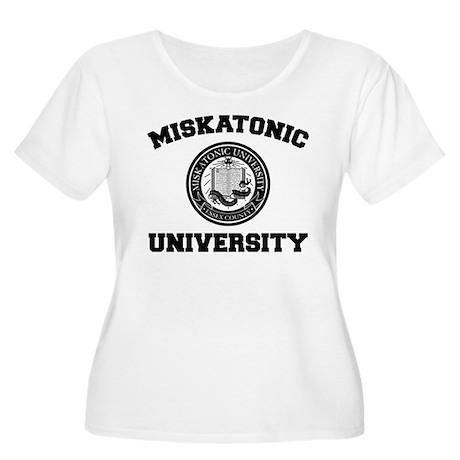 Miskatonic University Women's Plus Size Scoop Neck