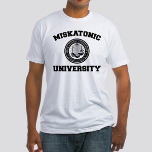 Miskatonic University Fitted T-Shirt