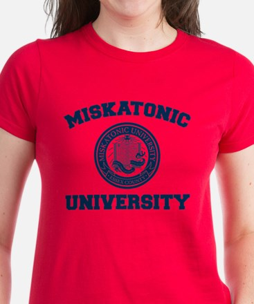 Miskatonic University Women's Dark T-Shirt