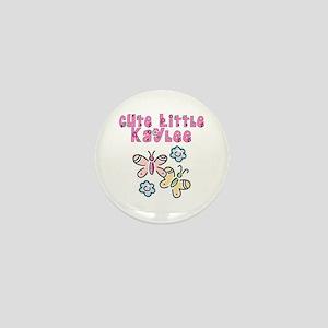 Cute Little Kaylee Mini Button