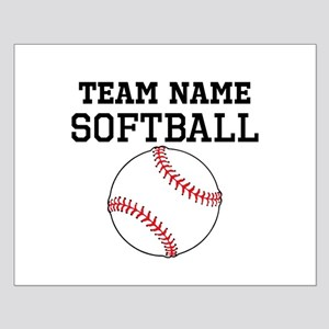 (Team Name) Softball Poster Design