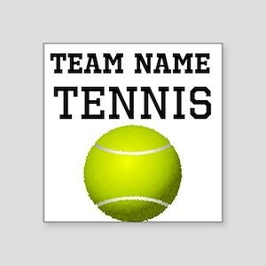 (Team Name) Tennis Sticker