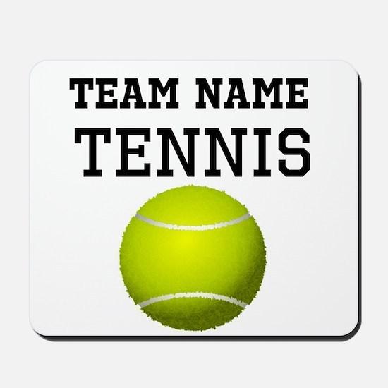 (Team Name) Tennis Mousepad