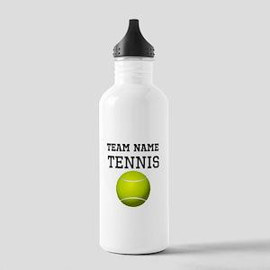 (Team Name) Tennis Sports Water Bottle