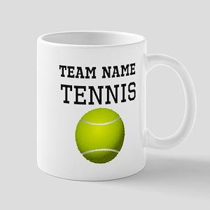 (Team Name) Tennis Mugs