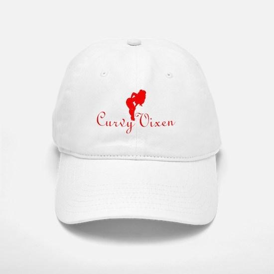 Curvy Vixen (ReDesign) Baseball Baseball Cap