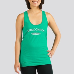 Wisconsin Disc Golf Racerback Tank Top