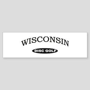 Wisconsin Disc Golf Sticker (Bumper)