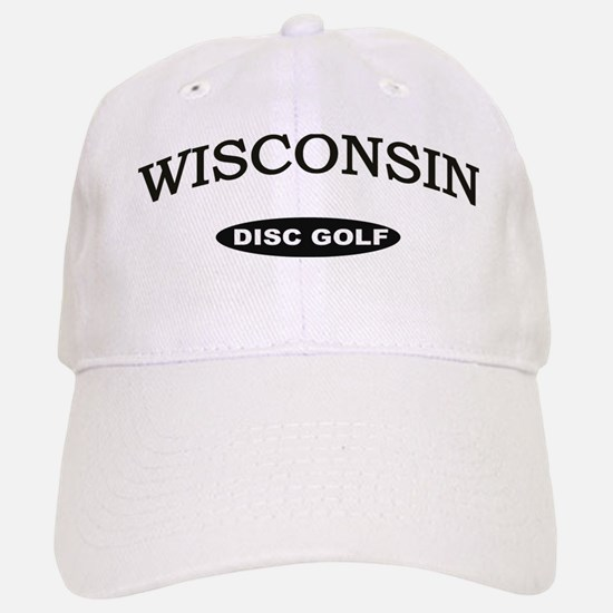 Wisconsin Disc Golf Baseball Baseball Cap