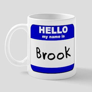 hello my name is brook  Mug