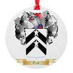 Ezzy Round Ornament