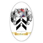 Ezzy Sticker (Oval 50 pk)