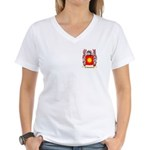 Exposito Women's V-Neck T-Shirt