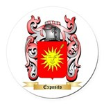 Exposito Round Car Magnet