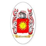 Exposito Sticker (Oval 50 pk)