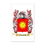 Exposito 35x21 Wall Decal