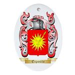 Exposito Ornament (Oval)