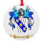 Exner Round Ornament
