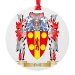 Evill Round Ornament
