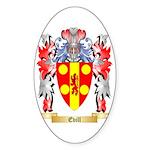 Evill Sticker (Oval)