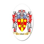 Evill 35x21 Oval Wall Decal