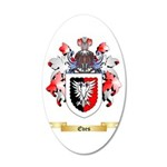 Eves 20x12 Oval Wall Decal