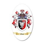Eves 35x21 Oval Wall Decal