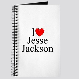 """I Love (Heart) Jesse Jackson"" Journal"