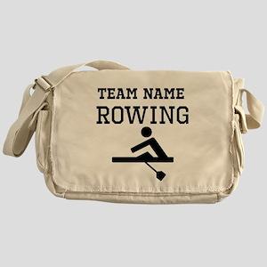 (Team Name) Rowing Messenger Bag