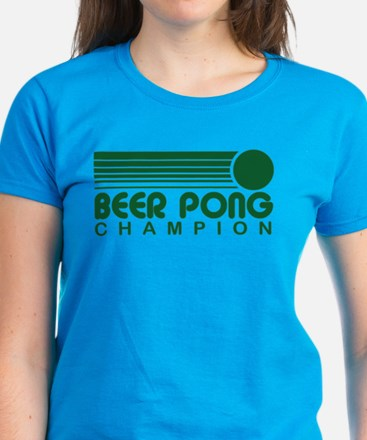 Beer Pong Women's Dark T-Shirt