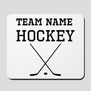 (Team Name) Hockey Mousepad