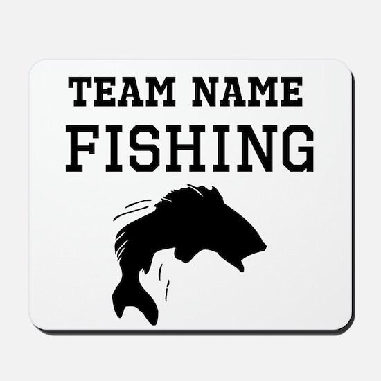 (Team Name) Fishing Mousepad