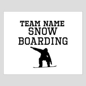 (Team Name) Snowboarding Poster Design