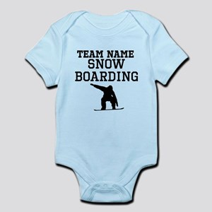 (Team Name) Snowboarding Body Suit