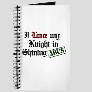 I Love my Knight in Shining B Journal