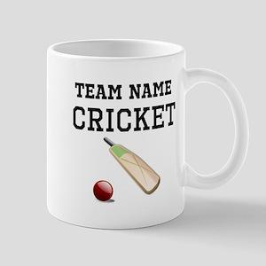(Team Name) Cricket Mugs