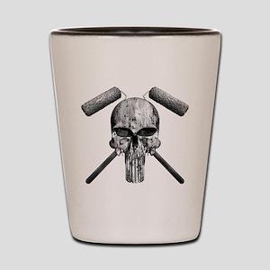 Paint Skull Shot Glass