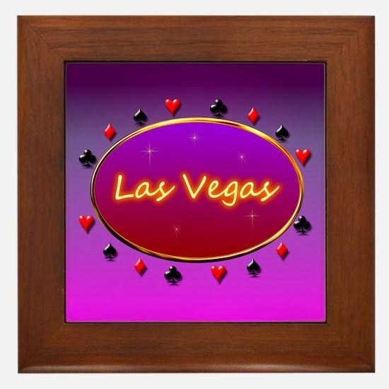 Las Vegas Framed Tile