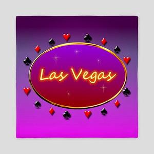 Las Vegas Queen Duvet