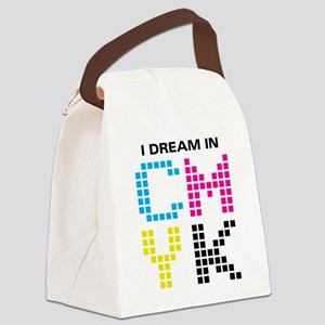 cmyk-01 Canvas Lunch Bag