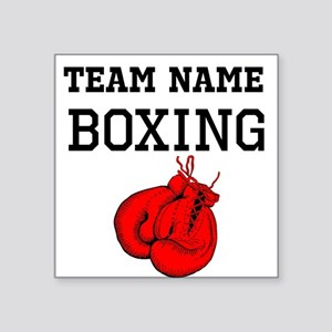 (Team Name) Boxing Sticker