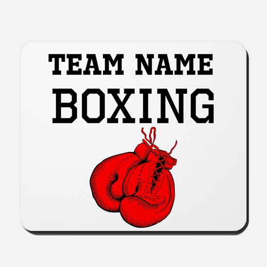 (Team Name) Boxing Mousepad