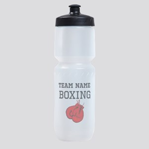 (Team Name) Boxing Sports Bottle