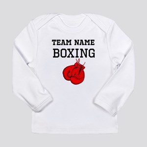 (Team Name) Boxing Long Sleeve T-Shirt