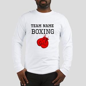 (Team Name) Boxing Long Sleeve T-Shirt